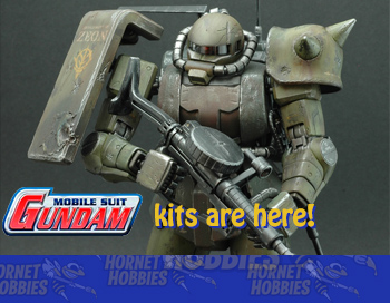 Gundam kits are here!