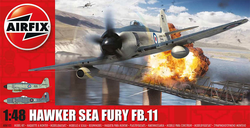 Airfix Hawker Sea Fury FB.II box art