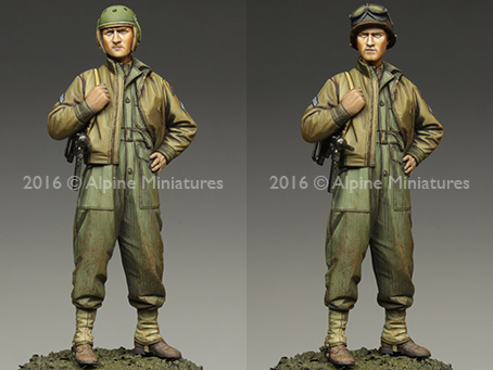 Alpine 35217 1/35 US 3rd Armored Division Corporal
