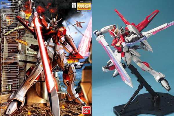 Master Grade Sword Impulse Gundam