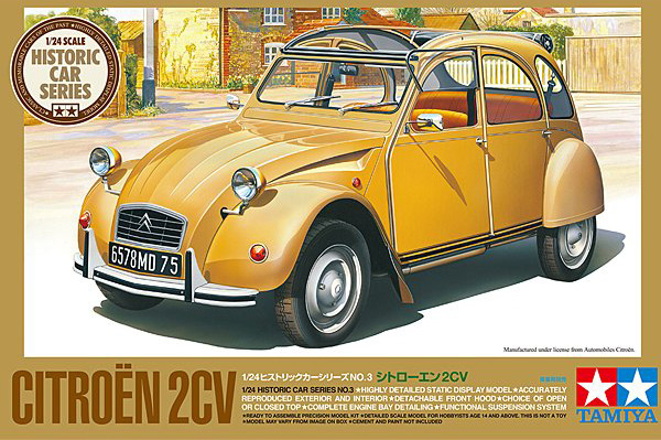 Tamiya 1:24 Citroën 2CV box