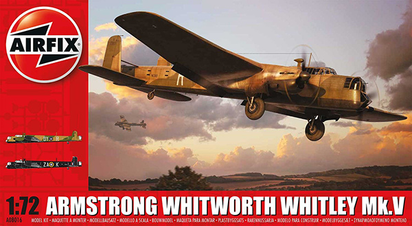 Airfix 1:72 Armstrong Whitworth Whitley Mk.V