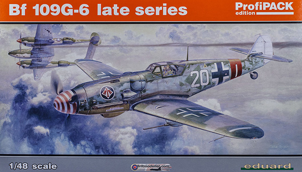 Eduard 1/48 Messerschmitt Bf 109 G-6 Late Series
