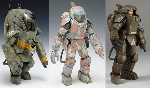 Maschinen Krieger early Armored Fighting Suits